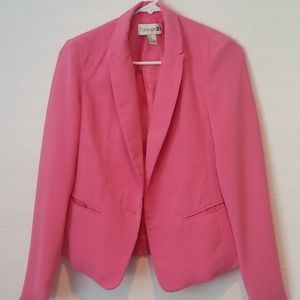 Small Pink Forever 21 Blazer